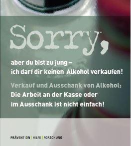 """Broschüre """"Sorry"""" von Sucht Schweiz"""